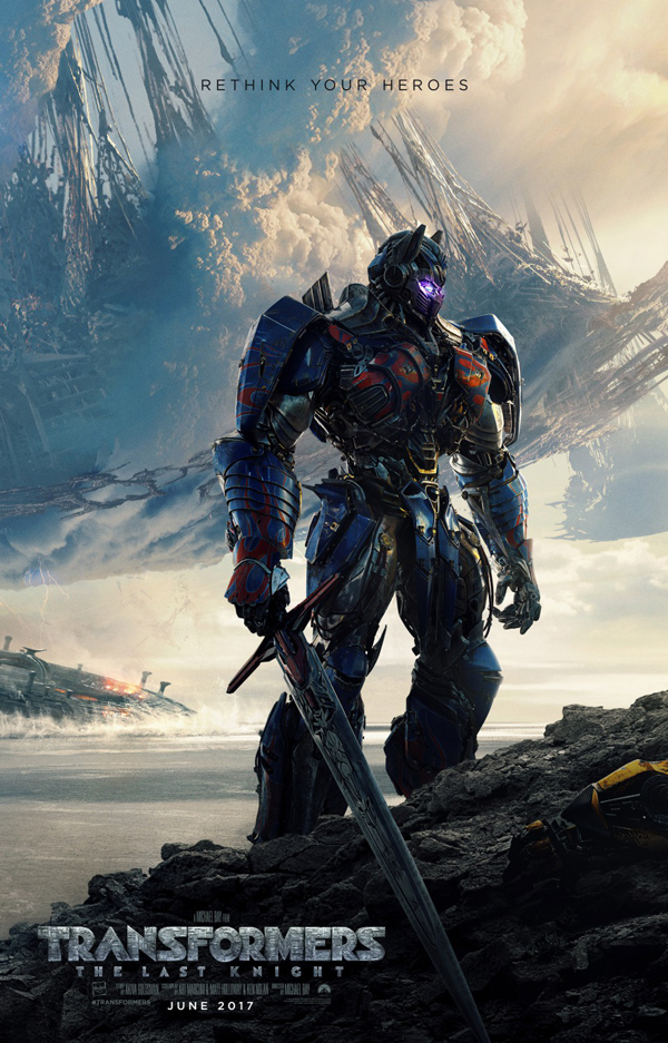 Transformers: The Last Knight Poster
