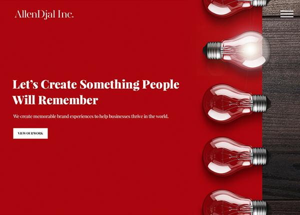 Web Design Agencies Websites: 26 Creative Web Examples - 14