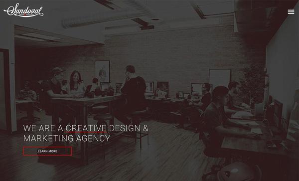 Web Design Agencies Websites: 26 Creative Web Examples - 2
