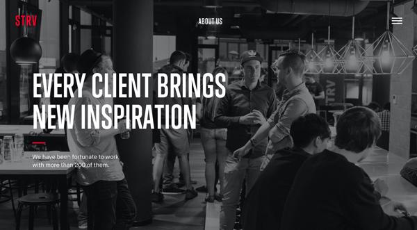 Web Design Agencies Websites: 26 Creative Web Examples - 21