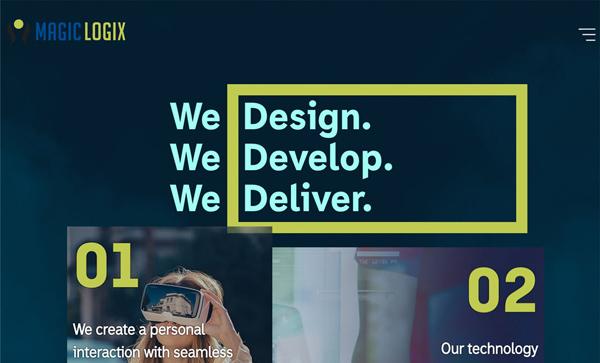 Web Design Agencies Websites: 26 Creative Web Examples - 24