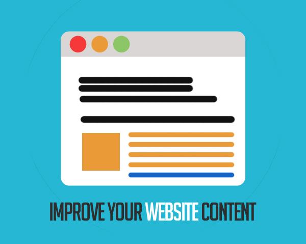 Improve Your Website Content