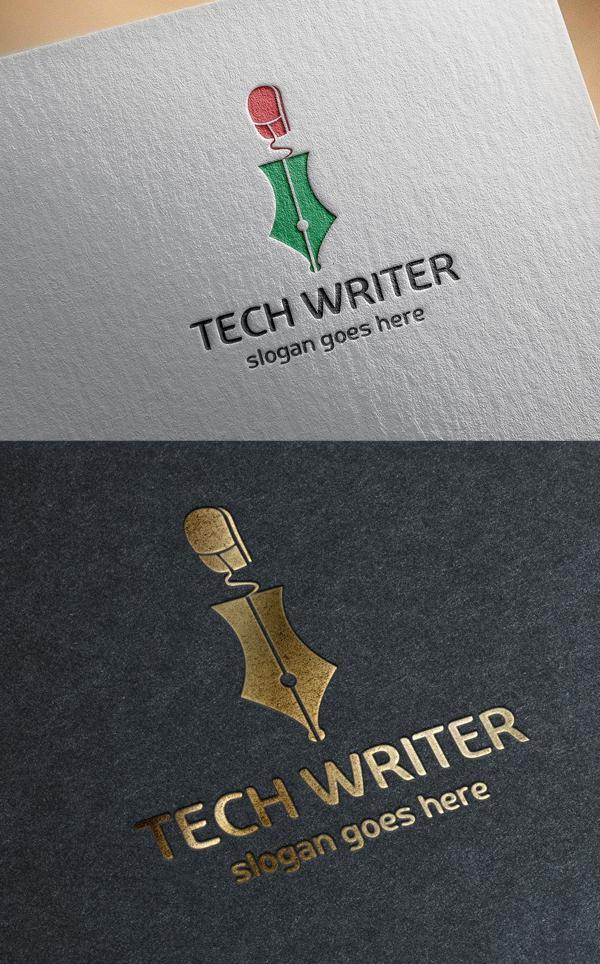 Tech Writer Logo Template