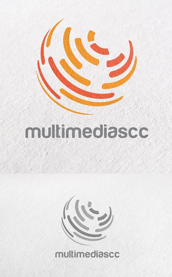 Global, Unique, Circle, Technology Logo Template