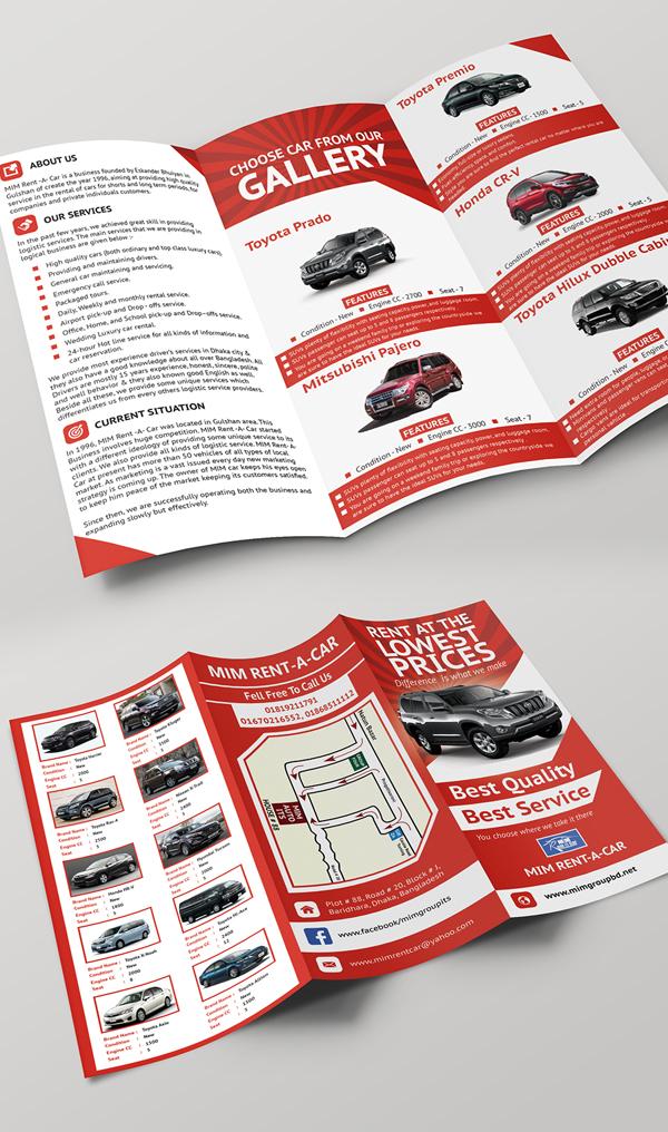 Free Tri-Fold Brochure A4 Size Print Ready (PSD ) Design