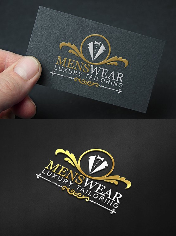 Menswear Logo Template