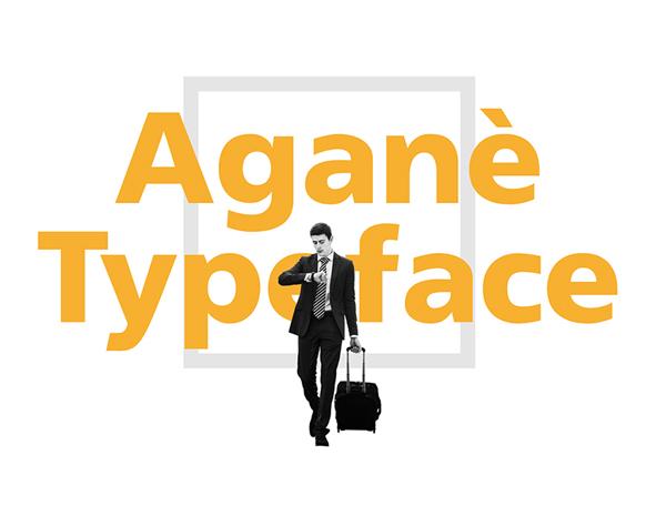 Agane Free Font