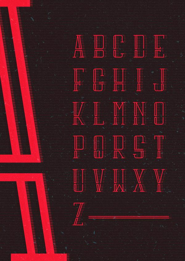 Bunkr Free Font & Letters