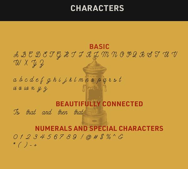 Mademoiselle Script  Free Font & Letters