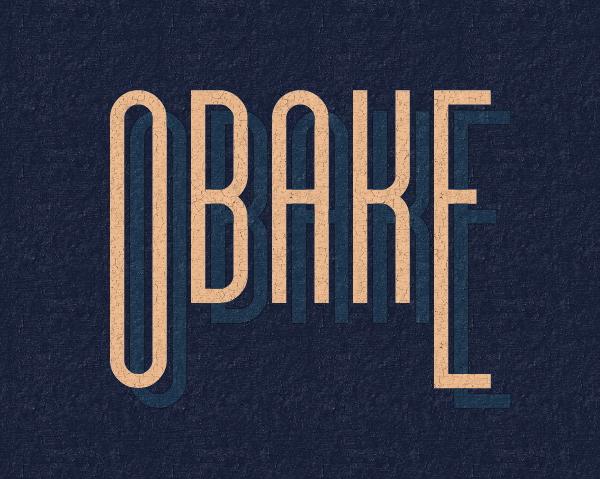 Obake Free Font