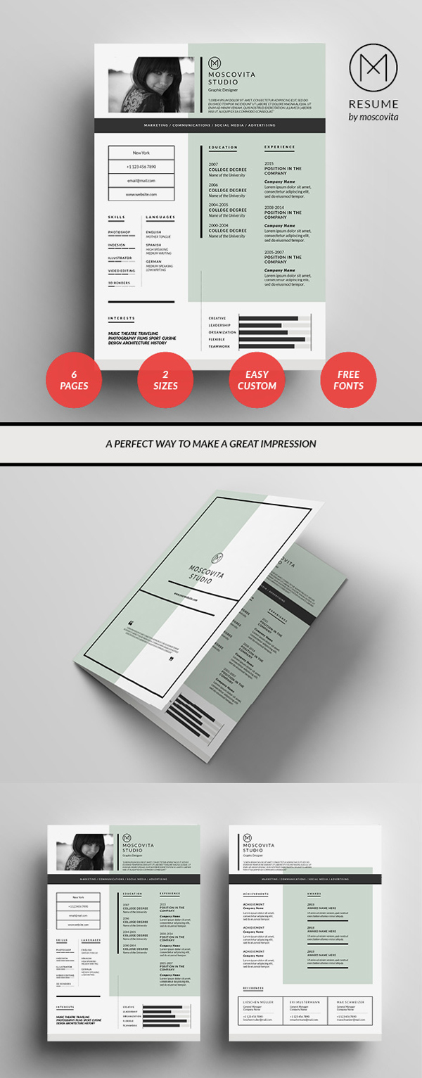 Resume Template Design