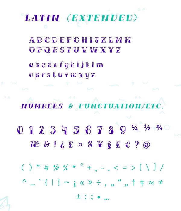 TM VINOGRAD Free Font & Letters
