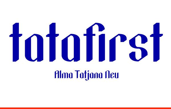 Tatafirst Free Font