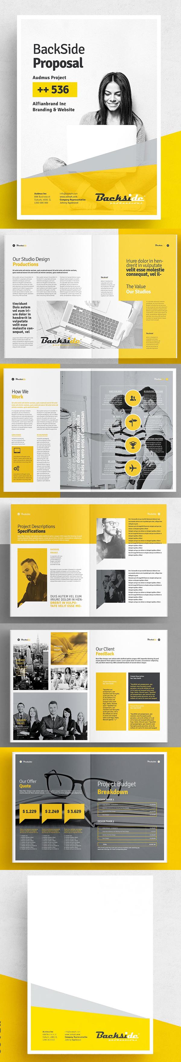 100 Professional Corporate Brochure Templates - 26