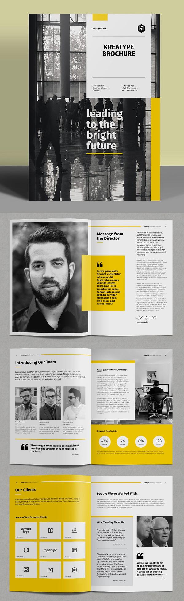 100 Professional Corporate Brochure Templates - 31