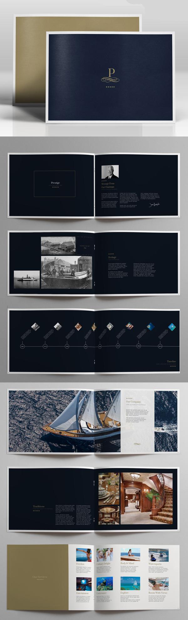 100 Professional Corporate Brochure Templates - 33