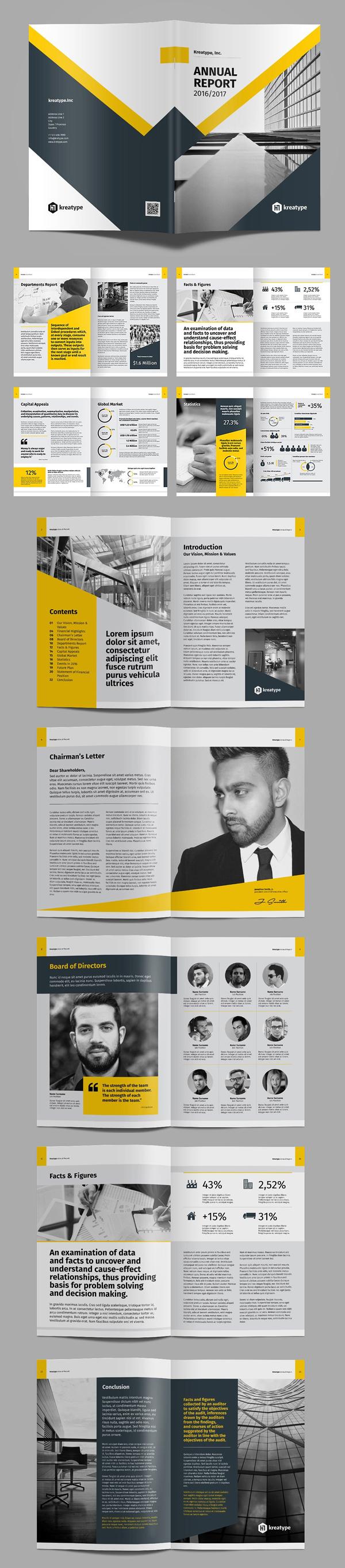 100 Professional Corporate Brochure Templates - 19
