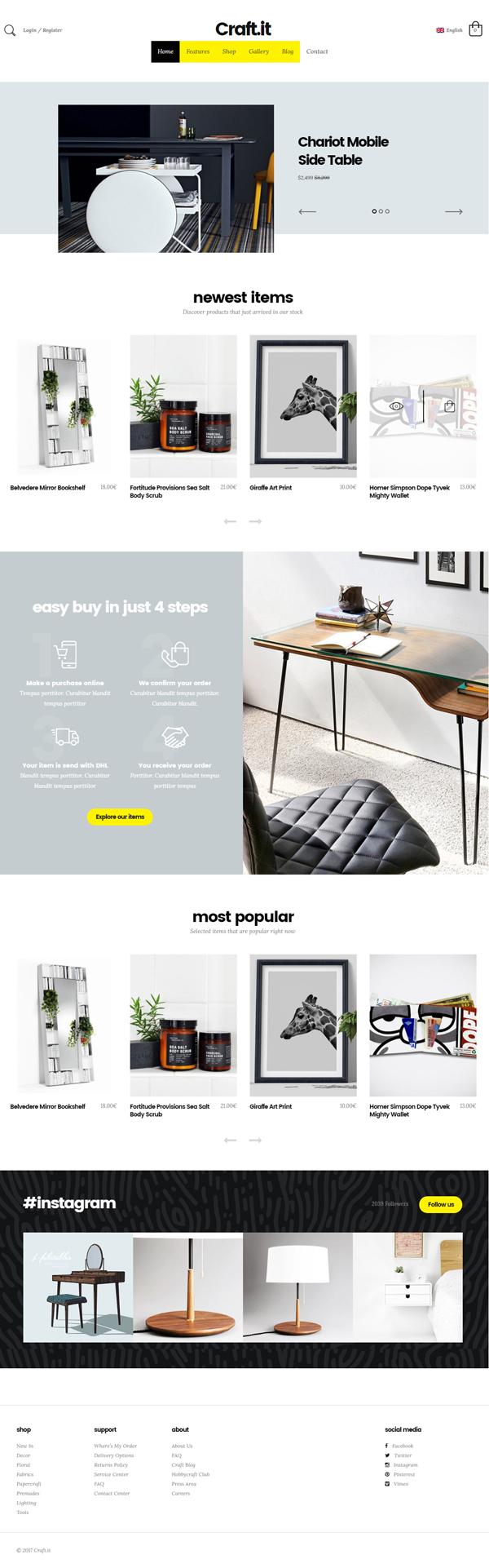Craftit WooCommerce Shopping Theme