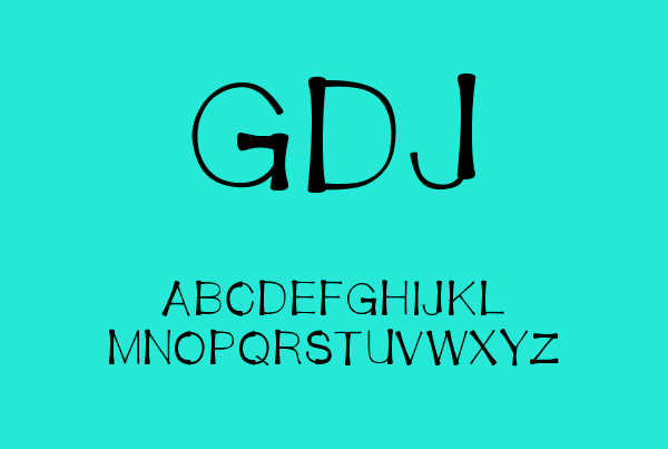 Bendy Straw Free Font