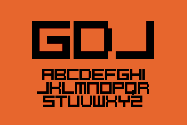 PixelCaps Free Font