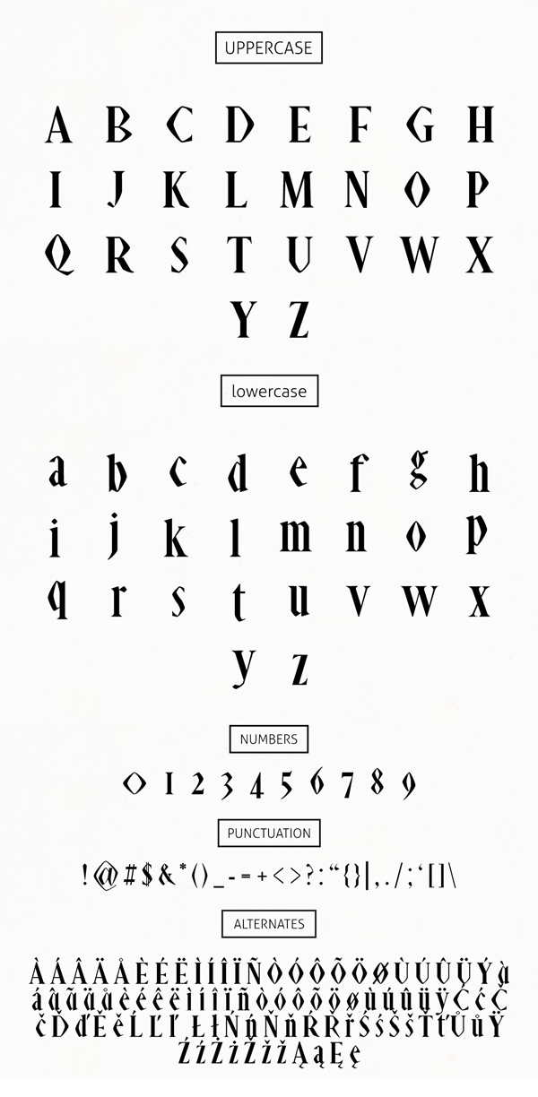 Abell Font Letters