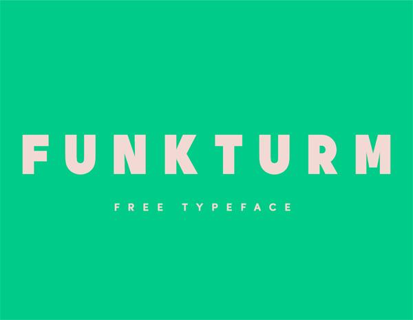Funkturm Free Font