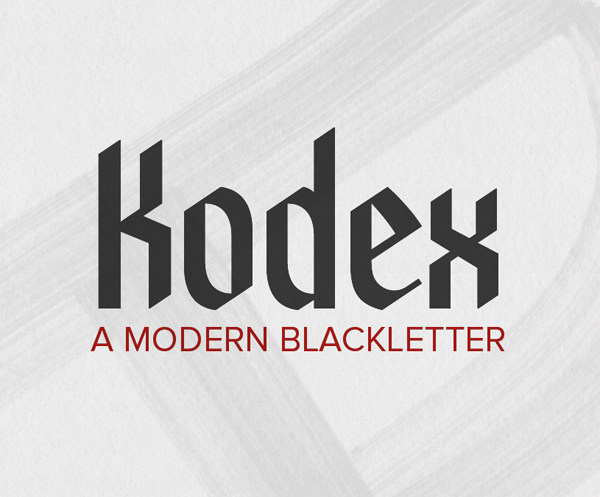 Kodex Free Font