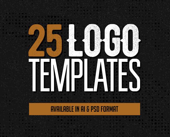 Logo Templates: 25 Custom Logo Design Templates