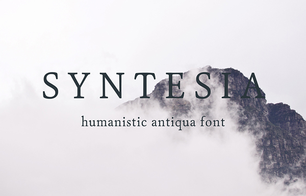 Syntesia Free Font