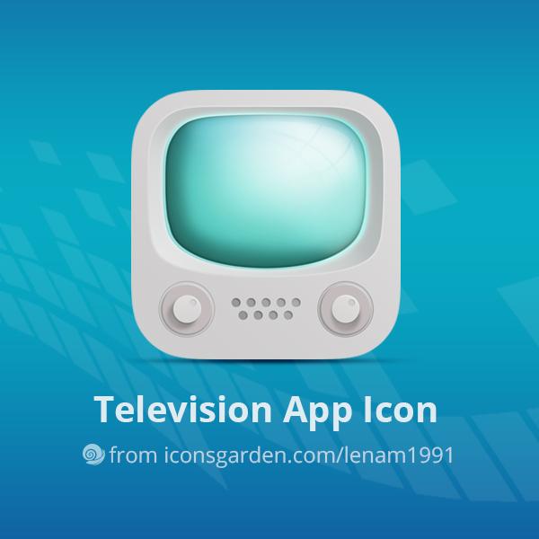 Free PSD Television app icon