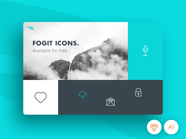 Free Solid and Line Icons for UI Design