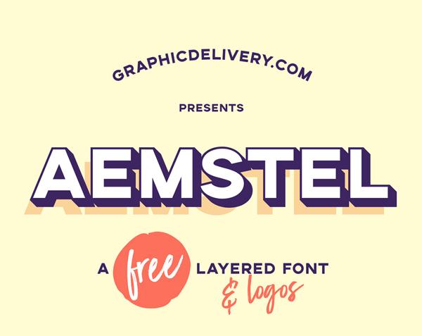 Aemstel Free Font