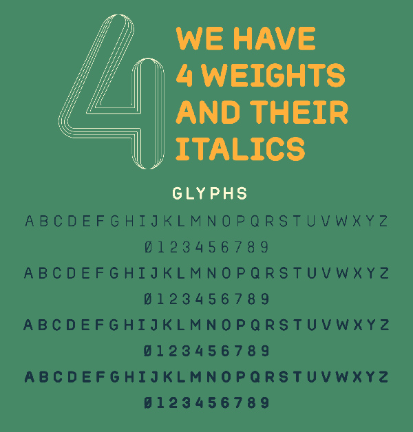 Aleppo Free Font Letters