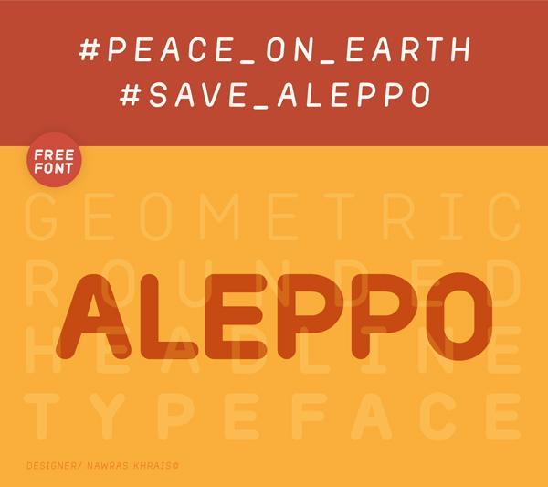 Aleppo Free Font