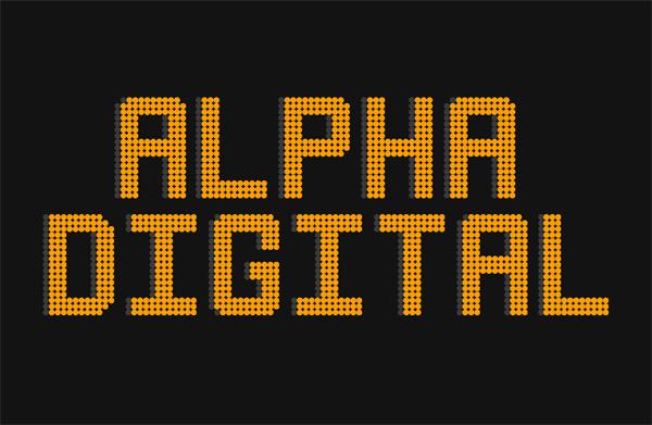 Alpha Digital Free Font