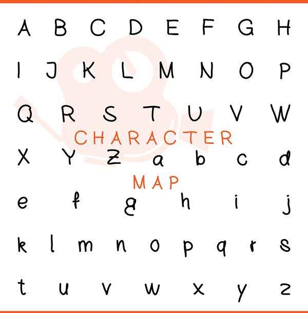 Cinema Free Font Letters