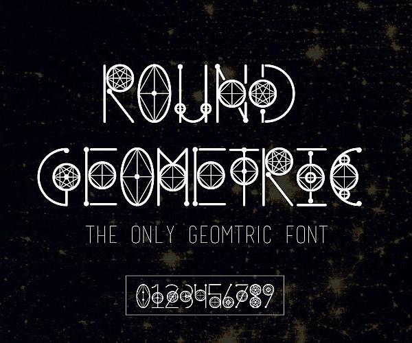 Geometric Free Font