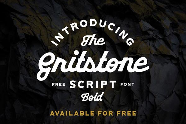 Gritstone Free Font