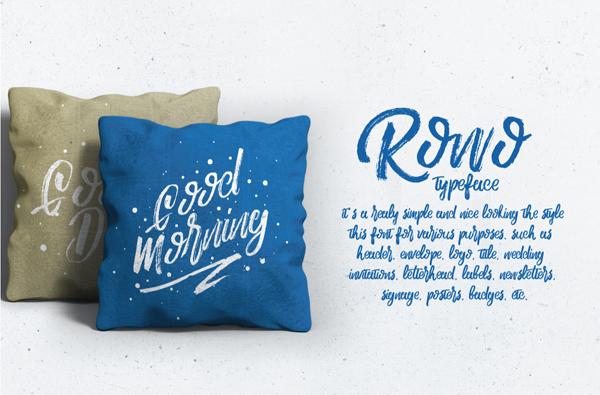 Rowo Free Font