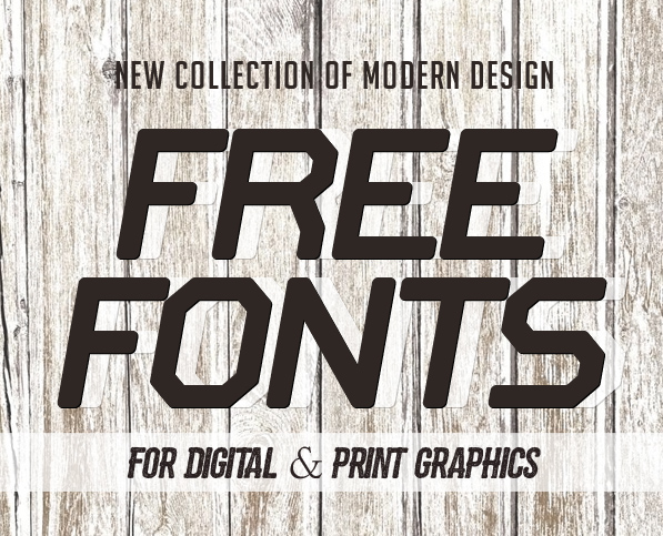 18 New Free Fonts for Graphic Design