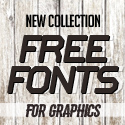 Post thumbnail of 18 New Free Fonts for Graphic Design