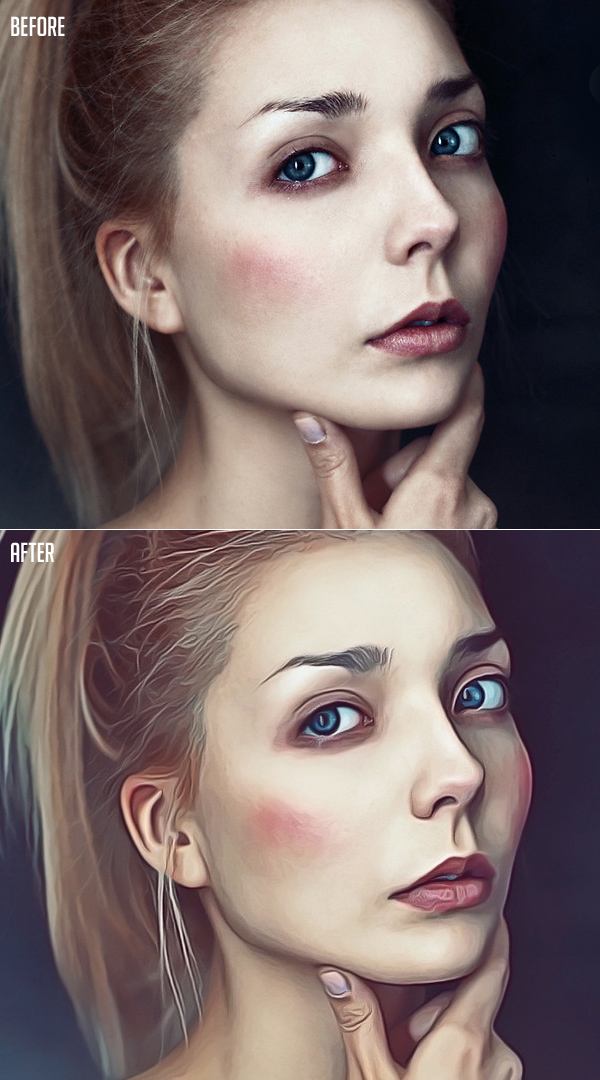 How to Create Realistic Paint Effect In Photoshop Tutorial
