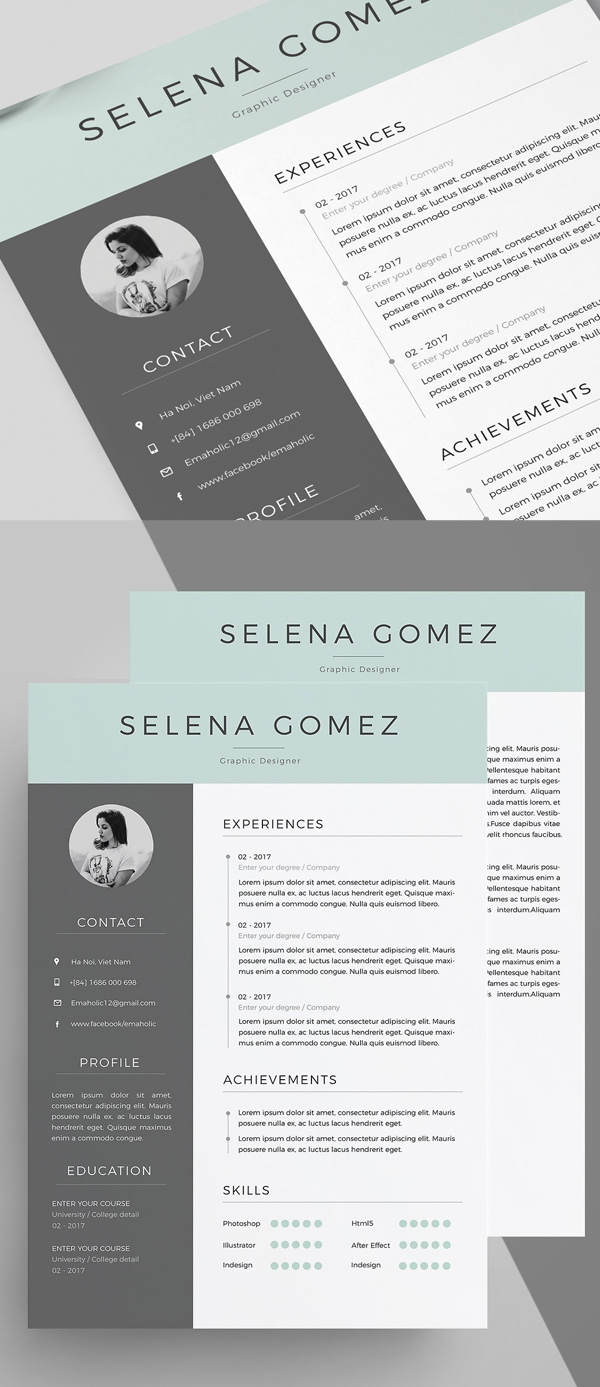 Professional CV/Resume Template and Cover Letter