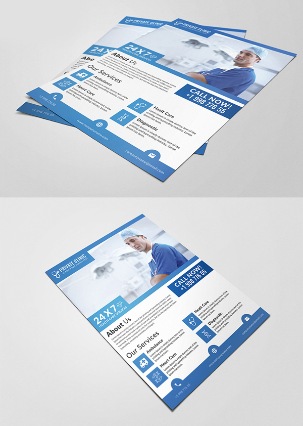 Medical PSD Flyer Template Free Download