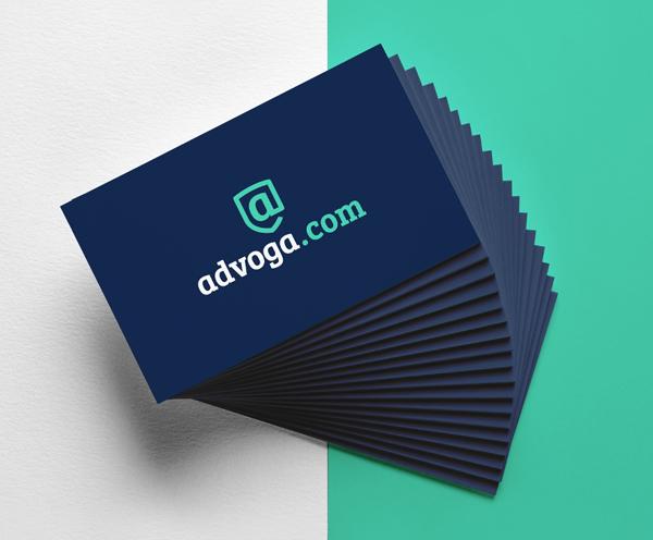 Branding: Advoga - Business Card