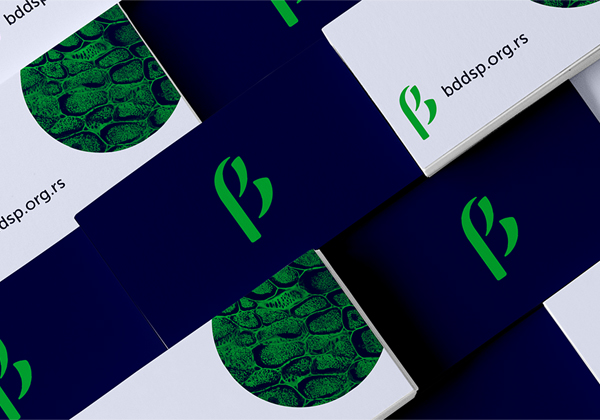 Branding: Biolosko Drustvo - Business Card