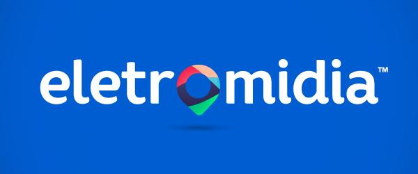 Branding: Eletromidia - Logo design