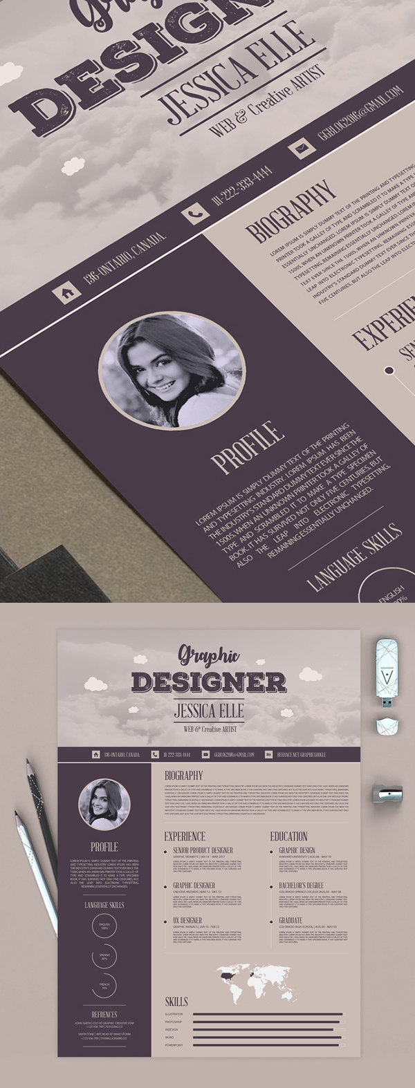 50 Free Resume Templates: Best Of 2018 -  16