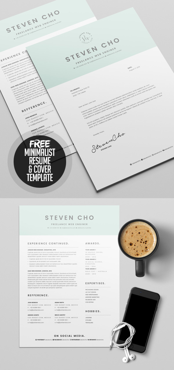 50 Free Resume Templates: Best Of 2018 -  18