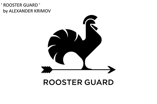 50 Creative Rooster Logo Designs for Inspiration - 20